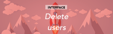 Multiple deletion of users