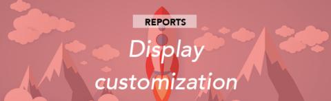 Custom reports: display customisation