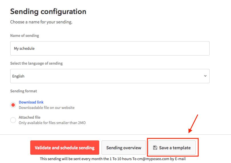 sending-configuration