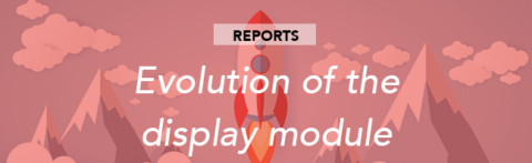 Evolution of the display module and sorting in the editing of report blocks
