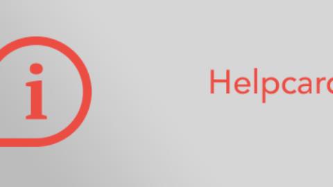 Helpcard: icon definition