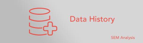 SEM Analysis – Data History
