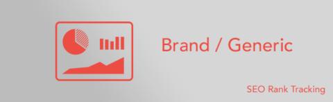 Brand keywords and non-brand keywords dimension
