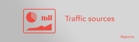 Google Analytics – compare traffic sources