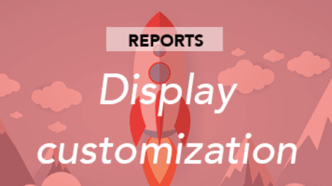 Custom reports: display customization