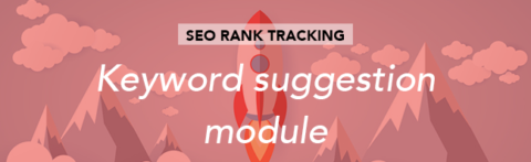 Suggesting keywords from the Search Console