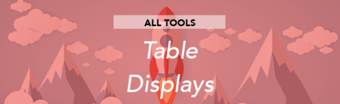 Configuring Table Displays