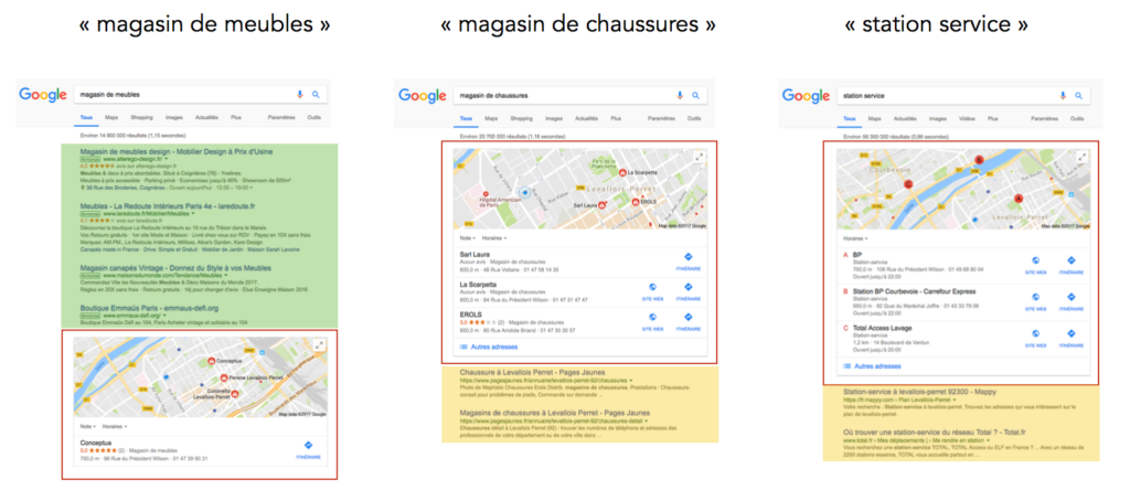seo vs google maps